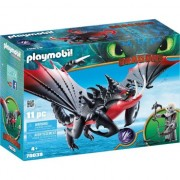 Set Playmobil Dragons - Deathgripper Si Grimmel 70039