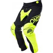 Oneal O´Neal Mayhem Lite Blocker Pantalones de Motocross Negro Amarillo 32
