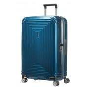 Samsonite Neopulse 69cm Medium 4 Wheel Spinner Suitcase - Metallic Blue