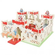 Bigjigs Toys JT113 Heritage Playset King Arthurs Castle