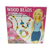 Art box Wood Beads Jewellery Kit for kids girls and all ( make your own jewellery )