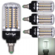 Youoklight E12 12W 120 SMD-5736 LED bombillas de maiz blanco frio (4Pcs)