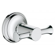 Agatatoare baie Grohe Essentials Authentic, 2 brate, cromat-40656001