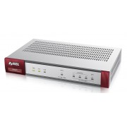 ZyXEL USG40 UTM BDL Firewall Appliance 10/100/1000, 3x LAN/DMZ, 1x WAN, 1x OPT, UTM Bundle (AS,AV,CF,IDP) 1 YR