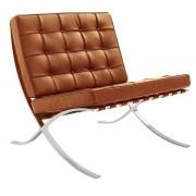 Barcelona fauteuil cognac