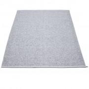 pappelina Svea Outdoor-Teppich - grau metallic / hellgrau 180 x 260cm