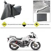 Ronish 100 Waterproof Heavy Quality Bike Body Cover for Standard Size Grey for Hero Karizma