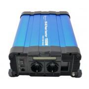 Tiszta szinuszú feszültség átalakító inverter 12v - 230 volt 1500 watt