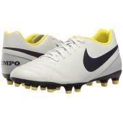Nike Tiempo Rio III FG Pure PlatinumPurple DynastyElectric LimeWhite