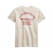 Harley-Davidson Distressed Logo Slim Fit Tee 99094-18vm