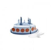 Kids Concept ® verjaardagstaart met dienblad blauw