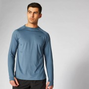 Myprotein Dry-Tech Infinity Long-Sleeve T-Shirt - Cadet Blue - L