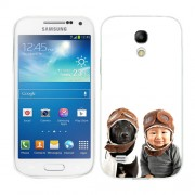 Husa Samsung Galaxy S4 Mini i9190 i9195 Silicon Gel Tpu Model Bebelus Si Caine Aviatori