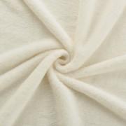 [neu.haus]® Manta - Colcha - Funda de cama - microfibra, felpa - 280g/m² - Color crema - 210x280 cm