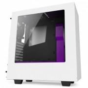 Carcasă calculator NZXT S340 Alb/Violet