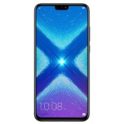 "Telefon Mobil Huawei Honor 8X, Procesor Octa-Core 2.2GHz / 1.7GHz, IPS LCD Capacitive touchscreen 6.5"", 4GB RAM, 128GB Flash, Camera Duala 20+2MP, Wi-Fi, 4G, Dual Sim, Android (Negru) + Cartela SIM Orange PrePay, 6 euro credit, 6 GB internet 4G, 2,000 min"