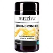 Nutriva Nutri-Bromelin - integratore alimentare a base di bromelina 30 compresse