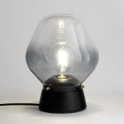 LA REDOUTE INTERIEURS Tischlampe Nasoa aus Glas und Holz