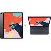 Apple iPad Pro (2018) 12,9 inch 256 GB Wifi Space Gray + Apple Smart Keyboard Folio AZERT