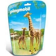Комплект Плеймобил 6640 - Жираф с малко- Playmobil, 291192