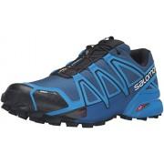 Salomon Men s Speedcross 4 CS Trail Runner Blue Depth/Bright Blue/Black 8 D(M) US