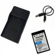 Ismartdigi BL-S5 bateria + cargador micro USB movil - negro + blanco