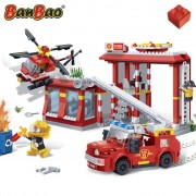 BanBao Fire Station Garage 7102