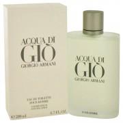 Acqua Di Gio Eau De Toilette Spray By Giorgio Armani 6.7 oz Eau De Toilette Spray