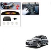 Auto Addict Car White Reverse Parking Sensor With LED Display For Mahindra Verito