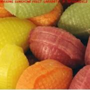 Maxons Sunshine Fruit Sherbets Retro Sweets