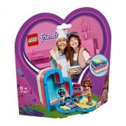 LEGO Friends, Cutia de vara in forma de inima a Oliviei 41387