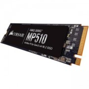 Диск SSD Corsair Force MP510 series NVMe PCIe Gen 3.0 x4, M.2 2280, 960GB 3D TLC NAND, Up to 610K IOPS Random Read, Up to 570K IOPS Random Write, CSSD