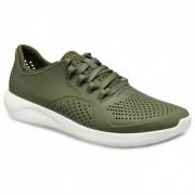 Crocs - LiteRide Pacer - Sneakers taille M12, vert olive