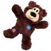 KONG WildKnots Bears мече играчка за кучета от плат и въже - S/M: Д 18 x Ш 14 x В 8 см