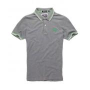 Superdry Tipped Collar Polo-Shirt L dunkelgrau