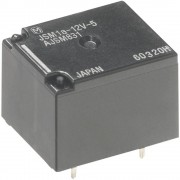 Relej za automobile PanasonicJSM1125, za tiskana vezja, 12V/DC, 1 preklopni kontakt, mak