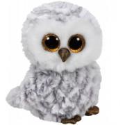 Jucarie plus 15 cm Beanie Boos OWLETTE - white owl TY