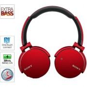 Sony Mdr Xb650BT Headphone - Red