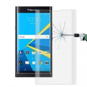 For Blackberry Priv 0.26mm 9H Surface Hardness 3D Curved Explosion-proof Colorized Silk-screen Tempered Glass Full Screen Film(Transparent)