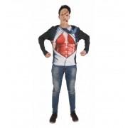 Disfraz de Camiseta Ejecutivo Zombie - Creaciones Llopis