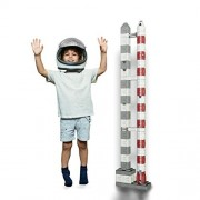 1ZBLOK - Stackable Building Blocks 50-Piece Set - STEM Educational Toy for Boys and Girls of All Ages. Build Your own Customizable Rocket Now