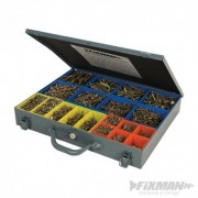 FIXMAN Goldstar Countersink Screws Pack - 3400pce 640485 5024763163524