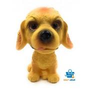 Dog Bobblehead PVC For Cars ~ Desks ~ study ~ office (Golden Retriever)