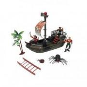 Set barca pirati figurine accesorii incluse