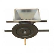 Zdrobitor de fructe manual GRIFO PIP, cuva inox 430x360 mm, 300-500 kg/h