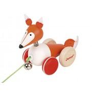 Janod Zigolos Pull Along Fox Baby Toy