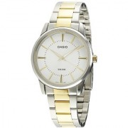 Casio Enticer Analog White Dial Mens Watch - MTP-1303SG-7AVDF (A498)