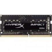 HyperX RAM modul pro notebooky HyperX Impact Black HX424S14IB2/8 8 GB 1 x 8 GB DDR4-RAM 2400 MHz CL 14-14-14