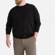 Trui met ronde hals in fijn tricot