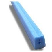 Socepi Profili protettivi colore blu in PE espanso per vetro, lastre, prodotti sottili misure 25x35x12 diam 6 mm - confezione 20pz. da 2 metri